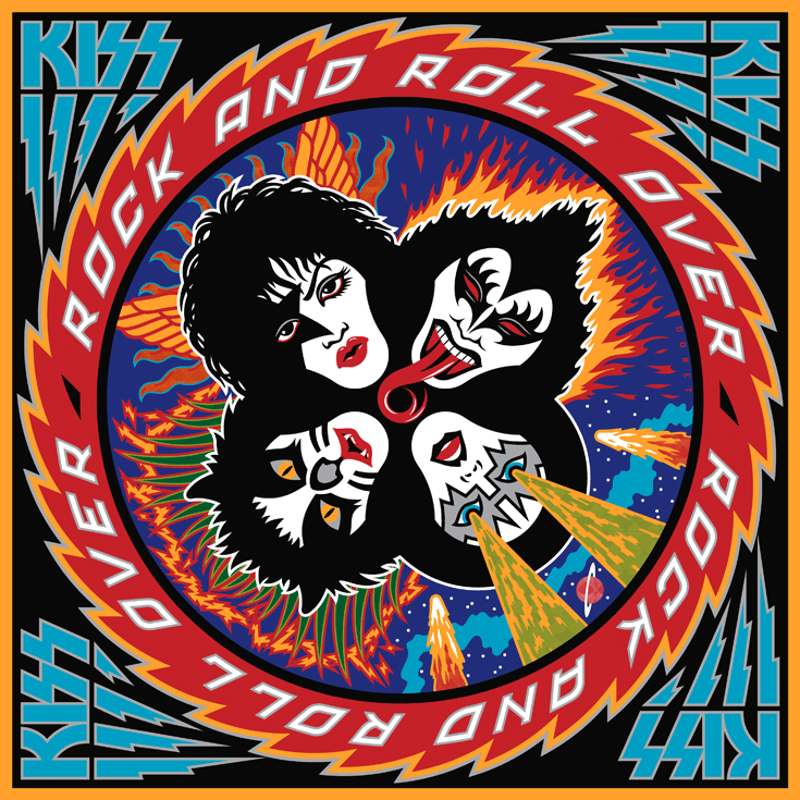 Kiss - Rock and Roll over by Michael Doret