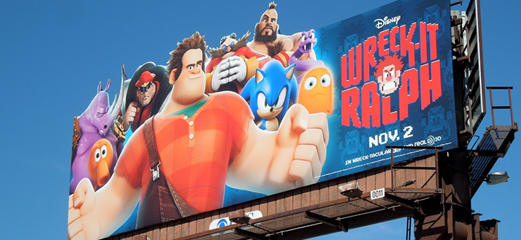Wreck-It Ralph Billboard
