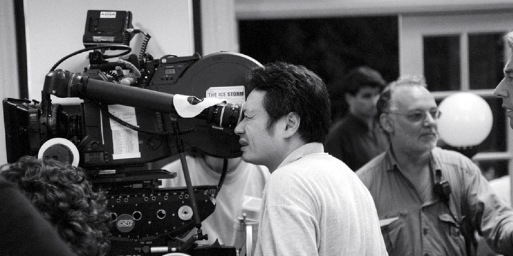 Ang Lee with Camera