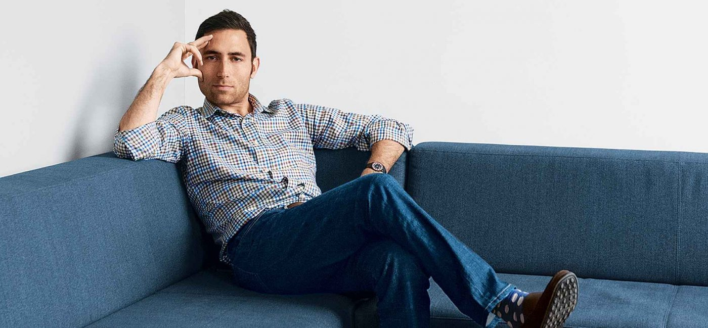 Scott Belsky on Sofa