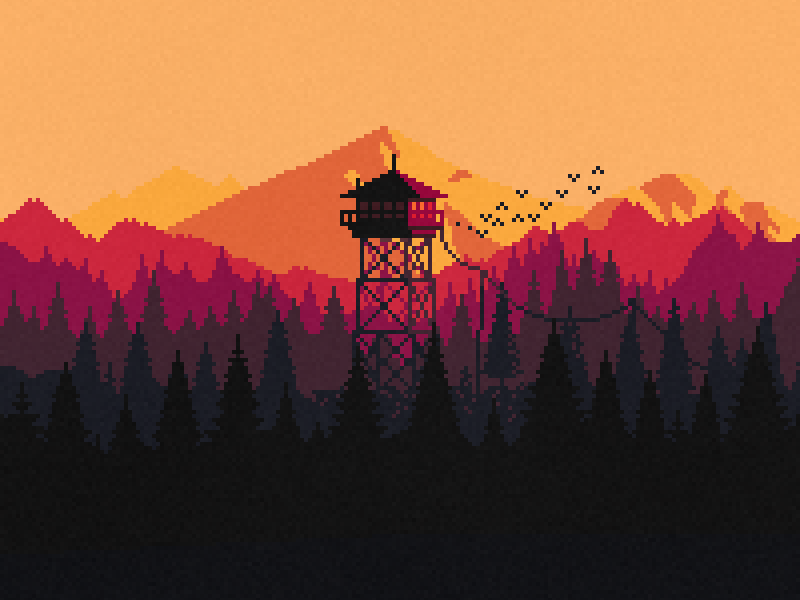 firewatch by Dave Grey
