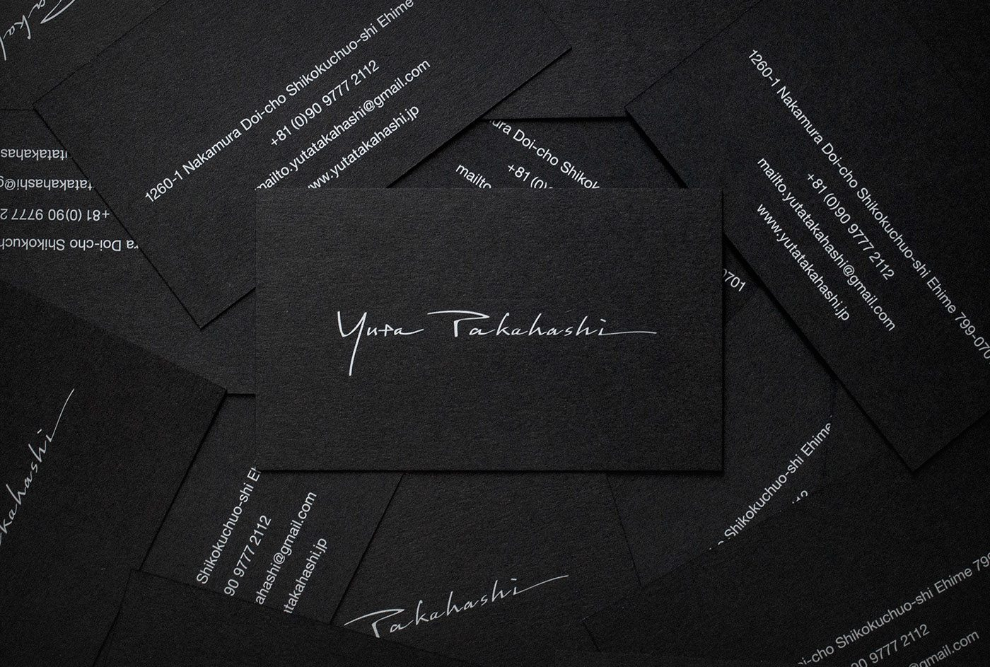 Yuta Takahashi Business Cards