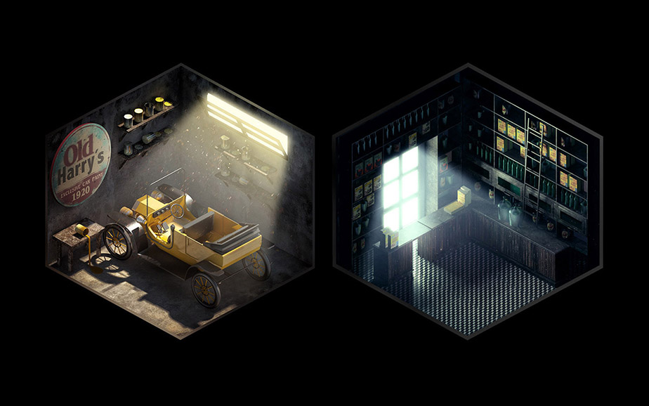 Antonio Petit Cwirko talks about Isometric Rooms with Stories