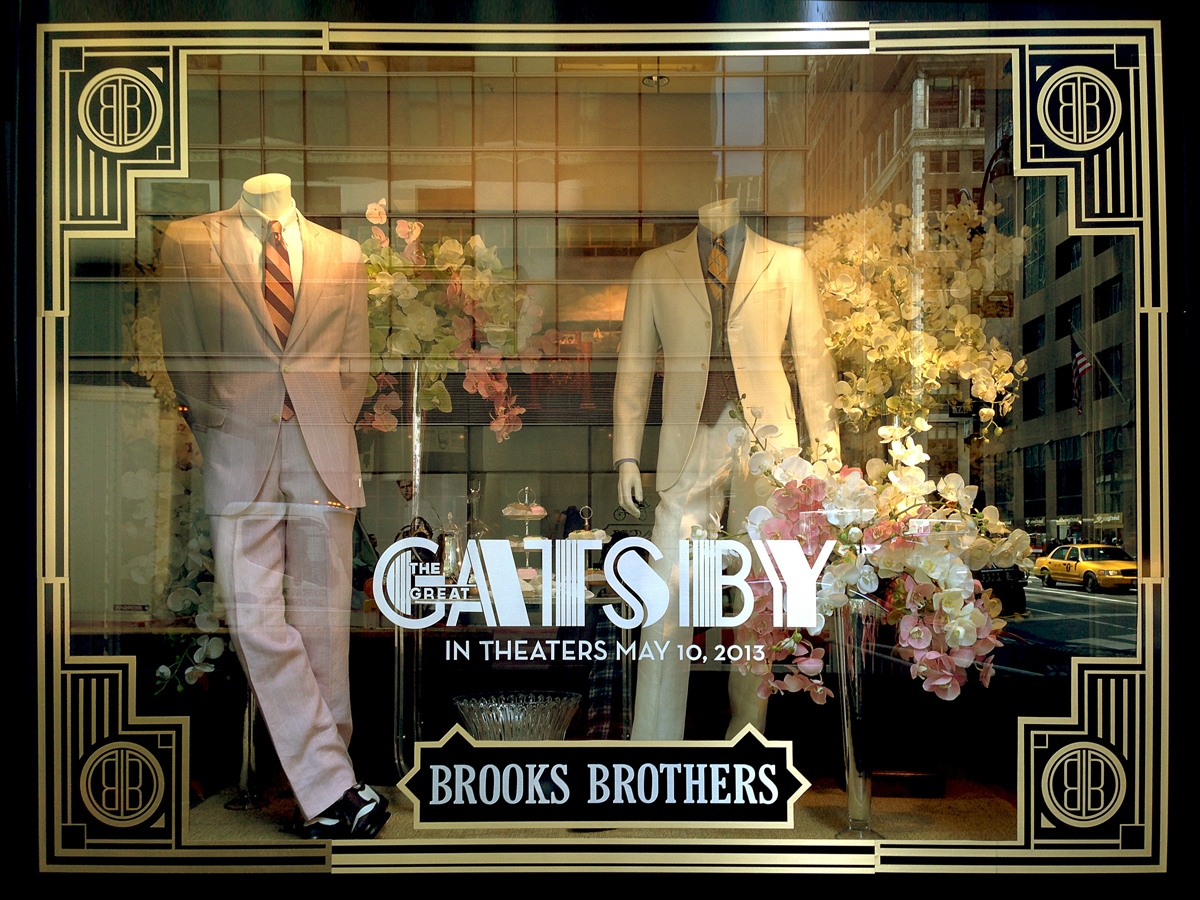 Gatsby Brooks Brothers