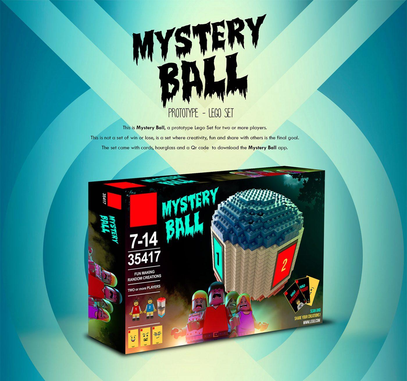 Lego Mystery Ball
