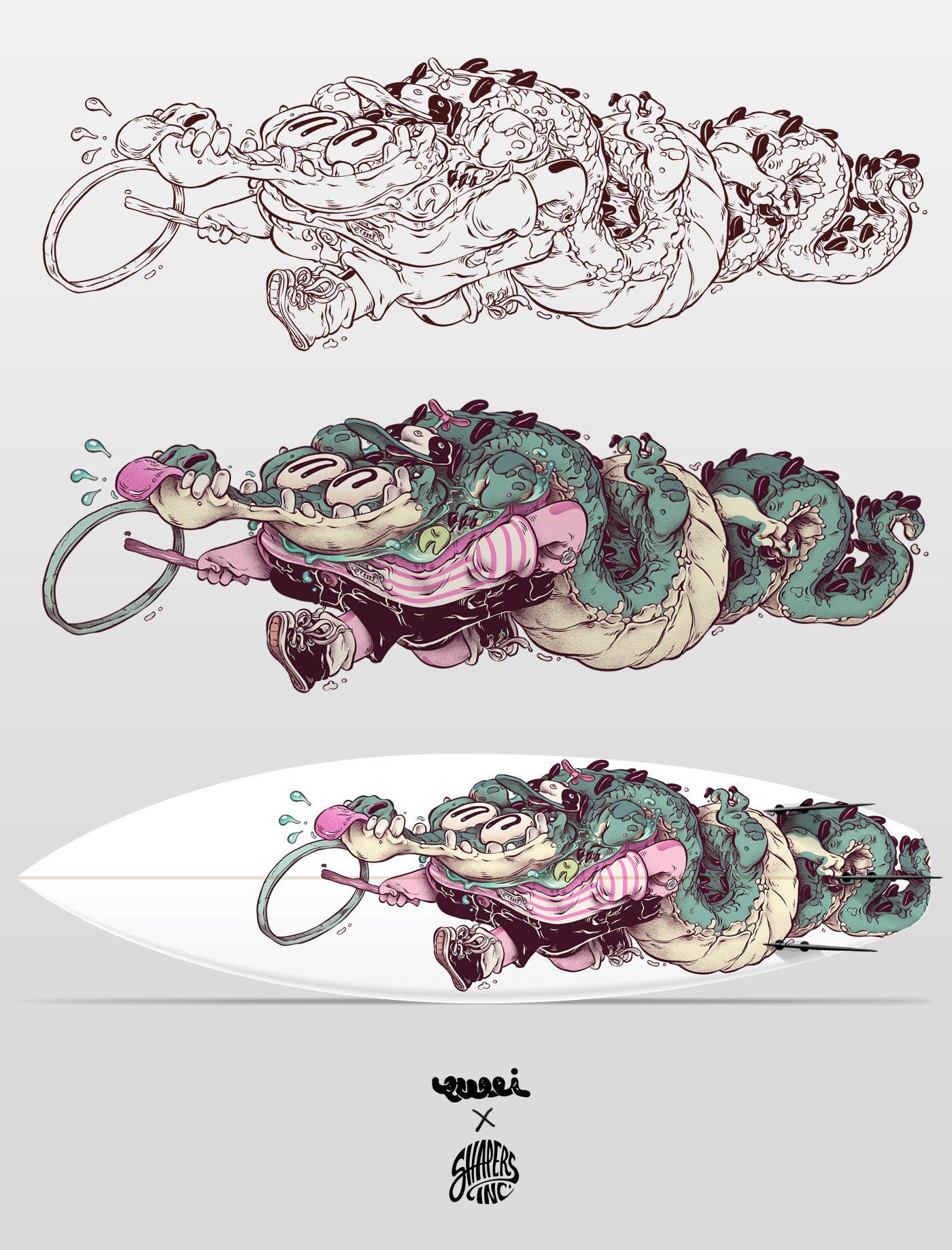 T-Wei Alligator Child