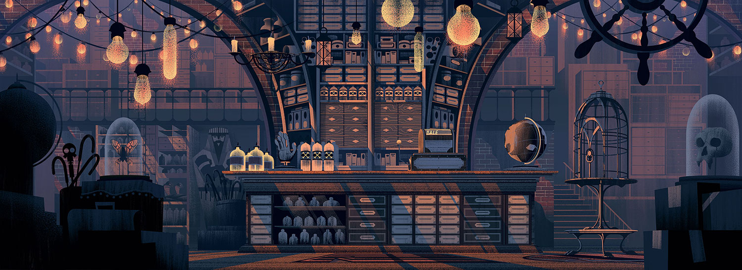 Curiosity Shoppe by Brian Miller