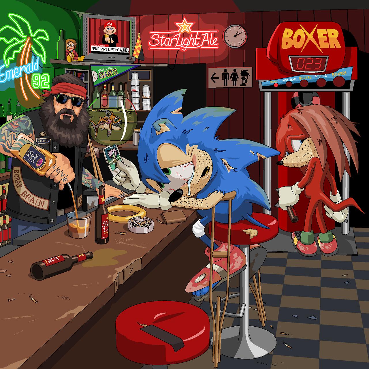 Jim'll Paint It Sonic
