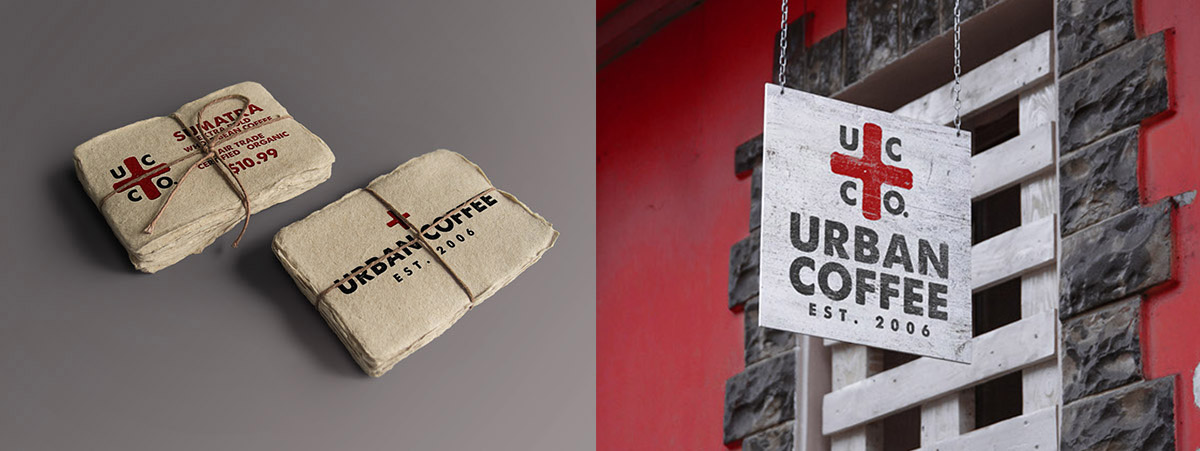 Urban Coffee Rebrand by Angie Von Slaughter