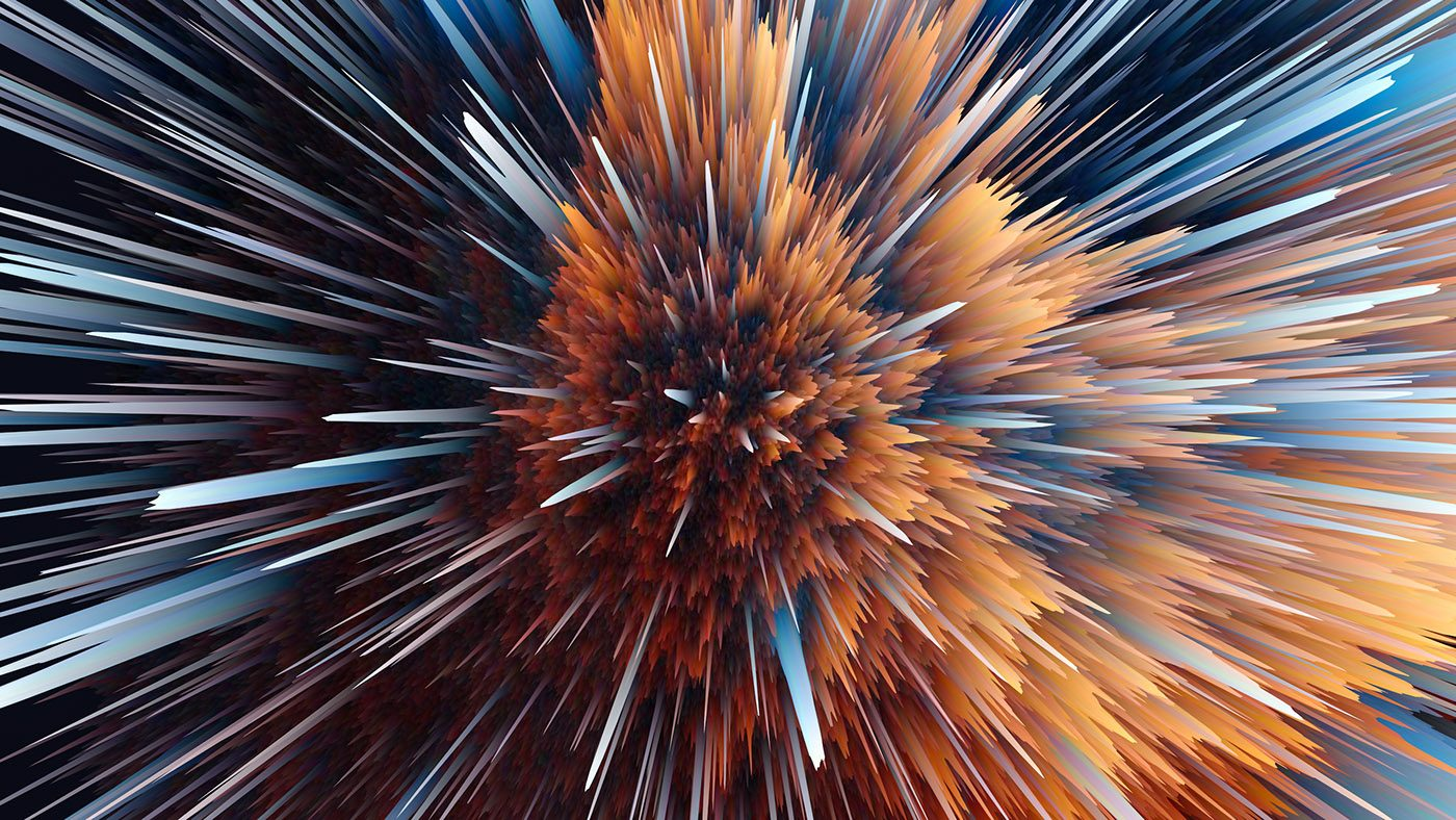 Particle Explosions by Ahmed Nabil