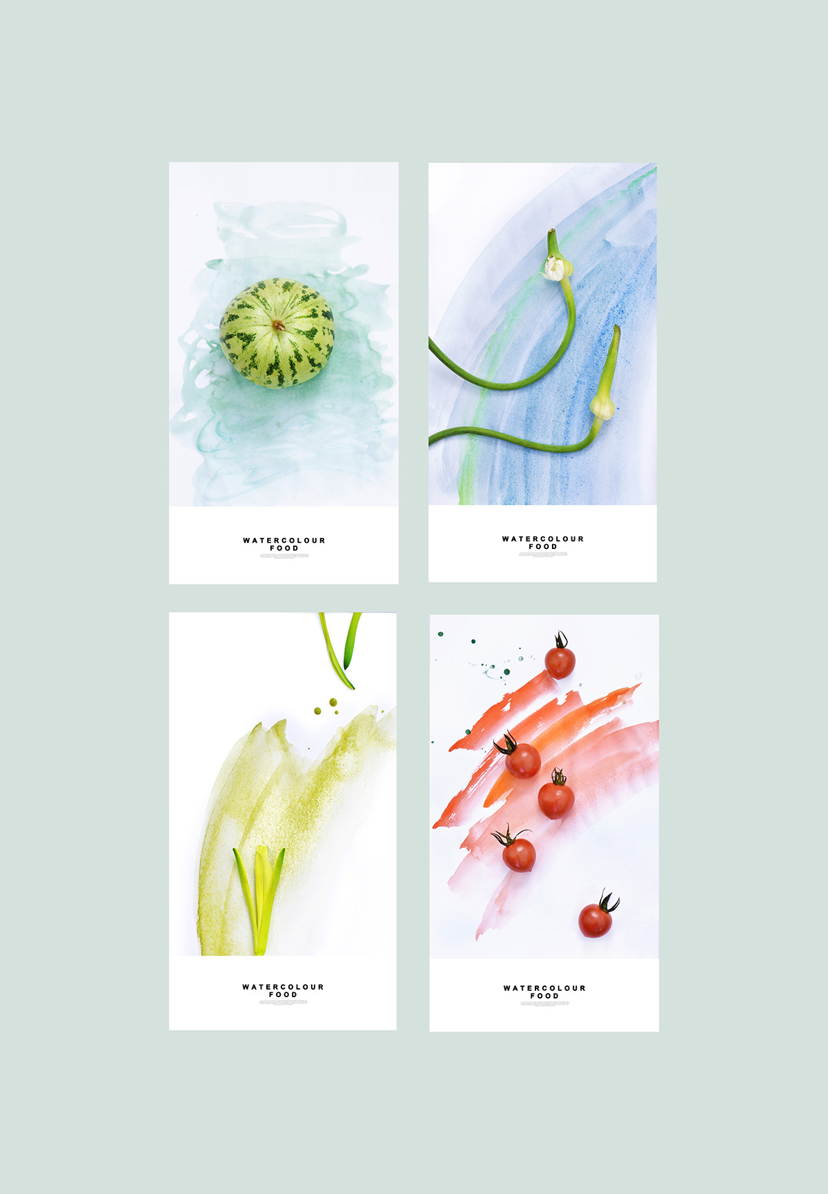 Watercolor Food Yum Tang