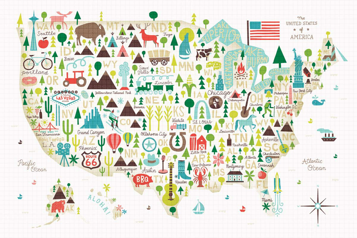Illustrated USA - Vermont