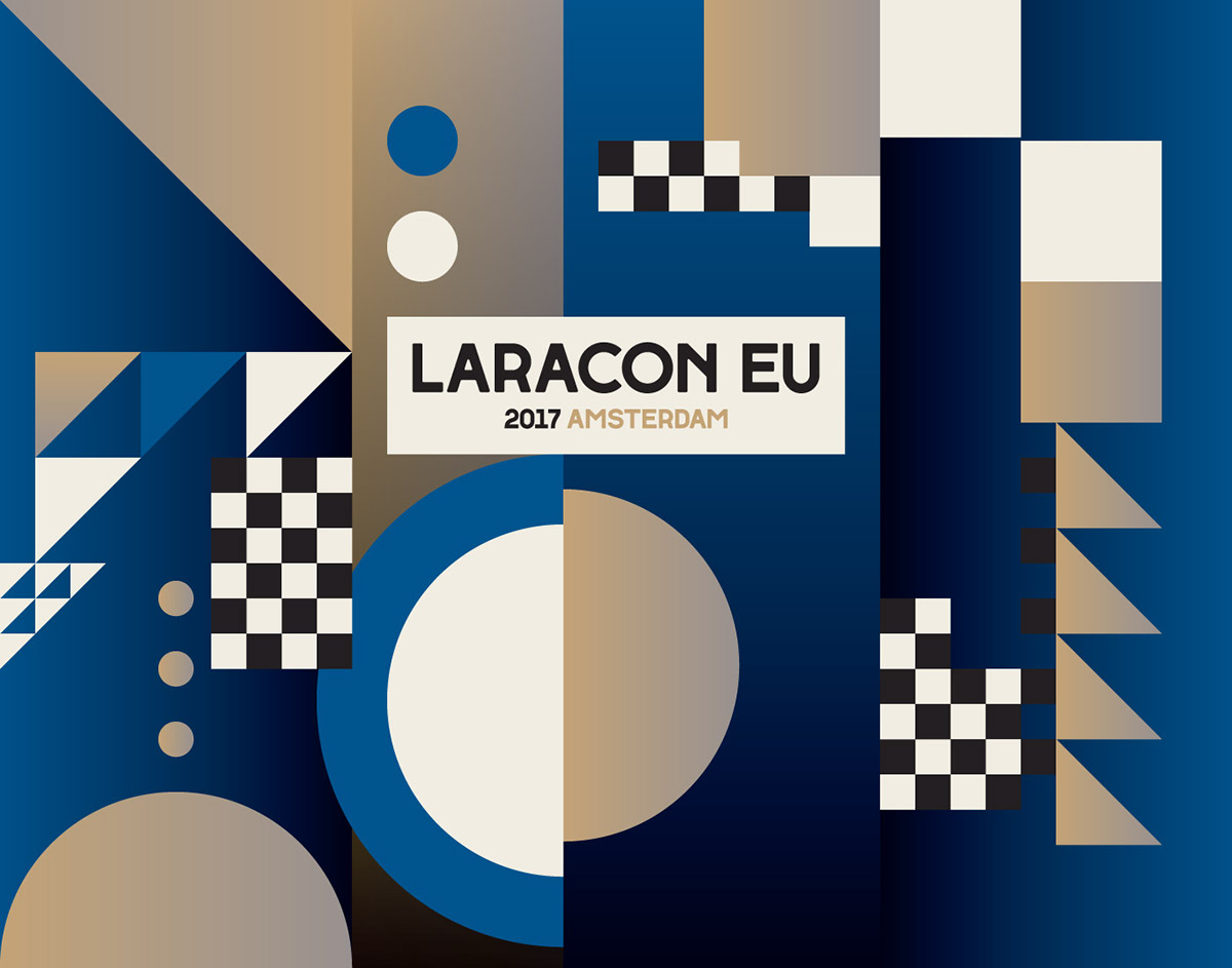 Laracon 2017 Blue by Nick Liefhebber