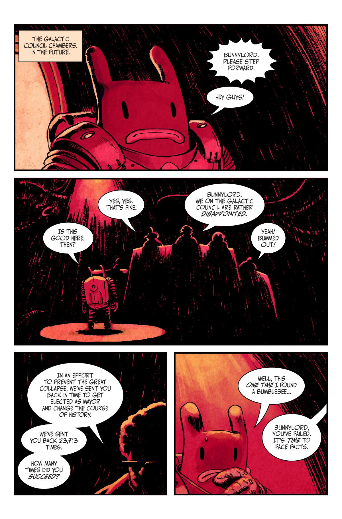 Not a Hero - Key Art and Comic Book