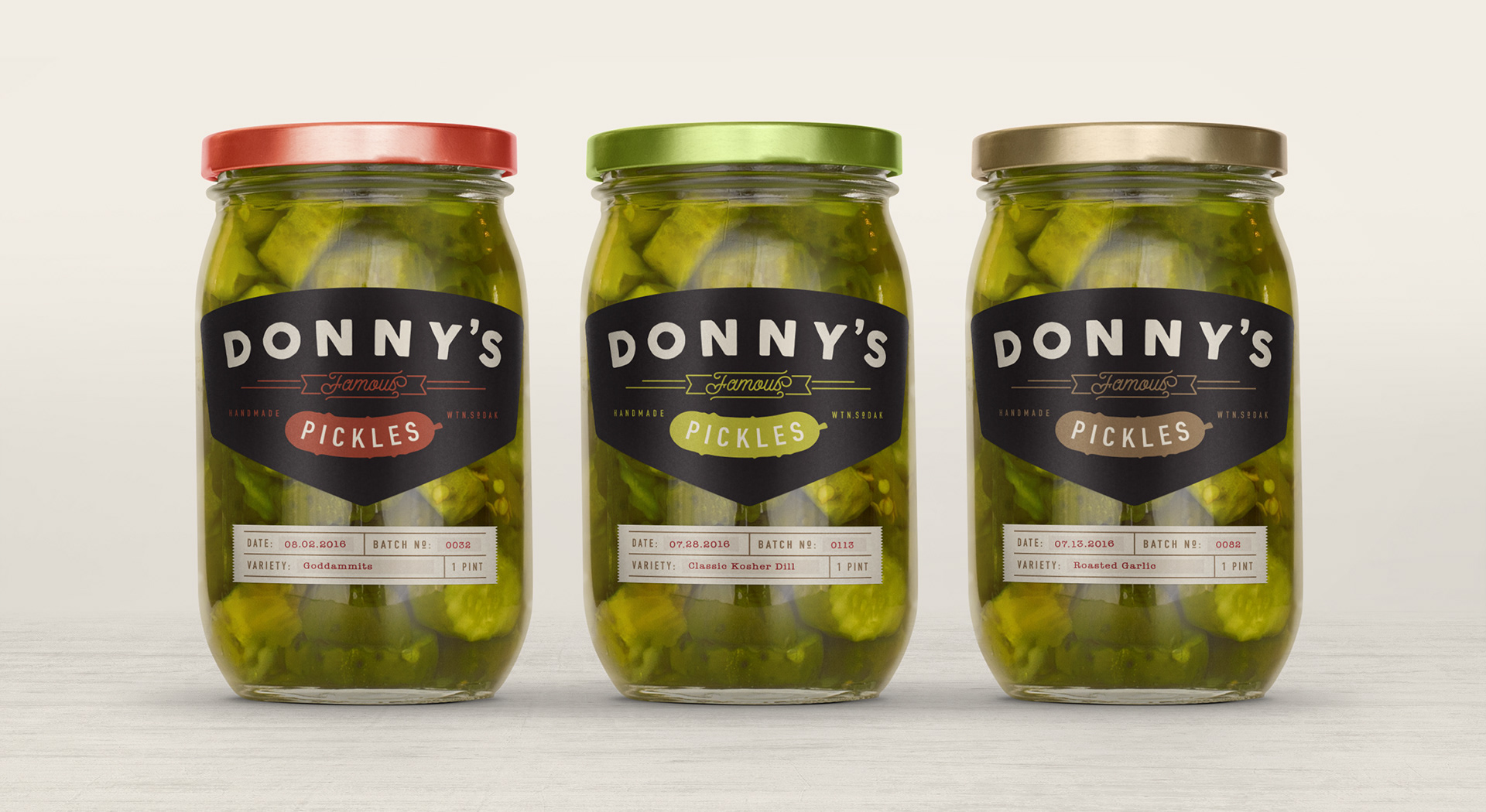 Donnys Famous Pickles