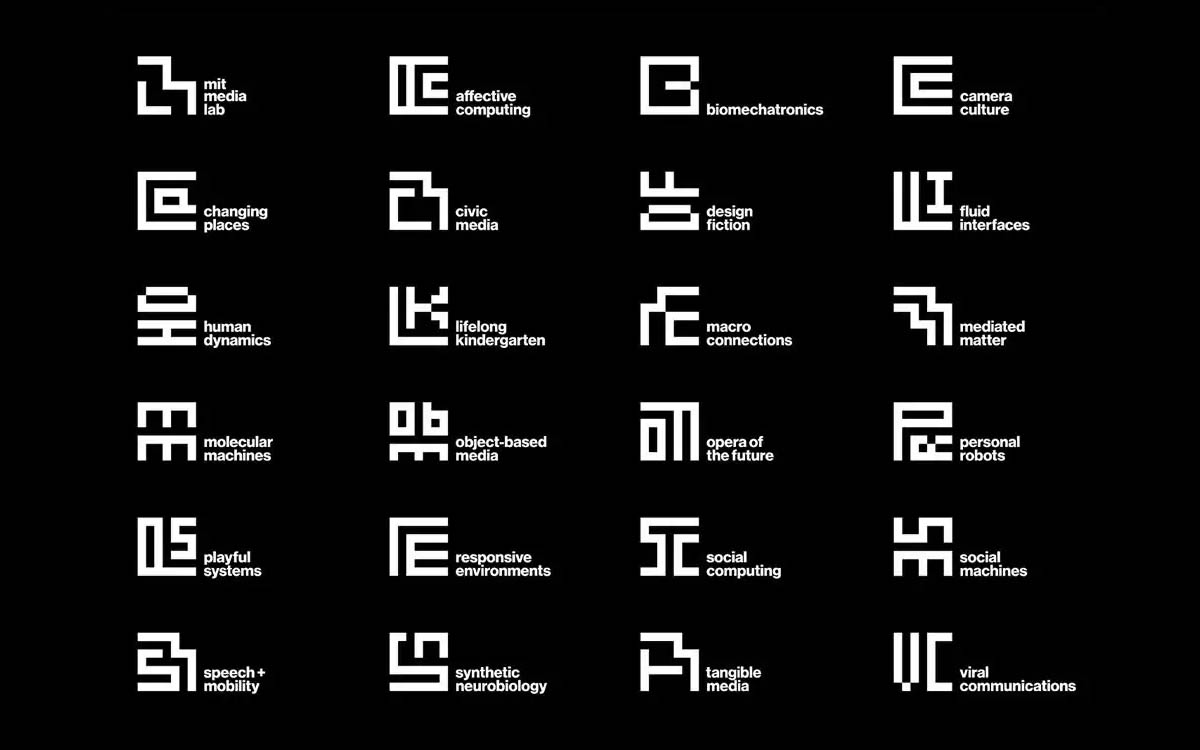MIT Logos by Michael Bierut