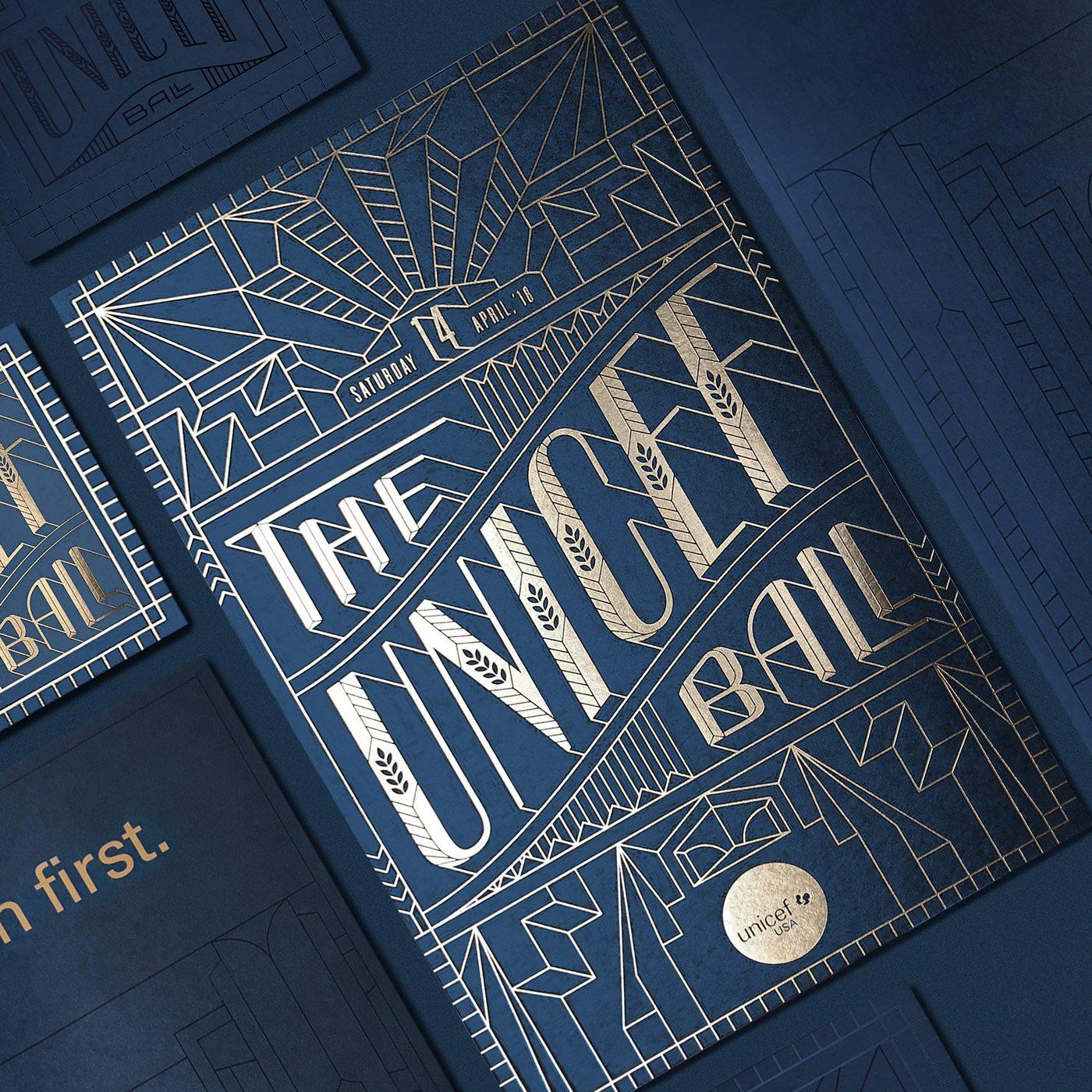 The Unicef Ball 2018 Identity