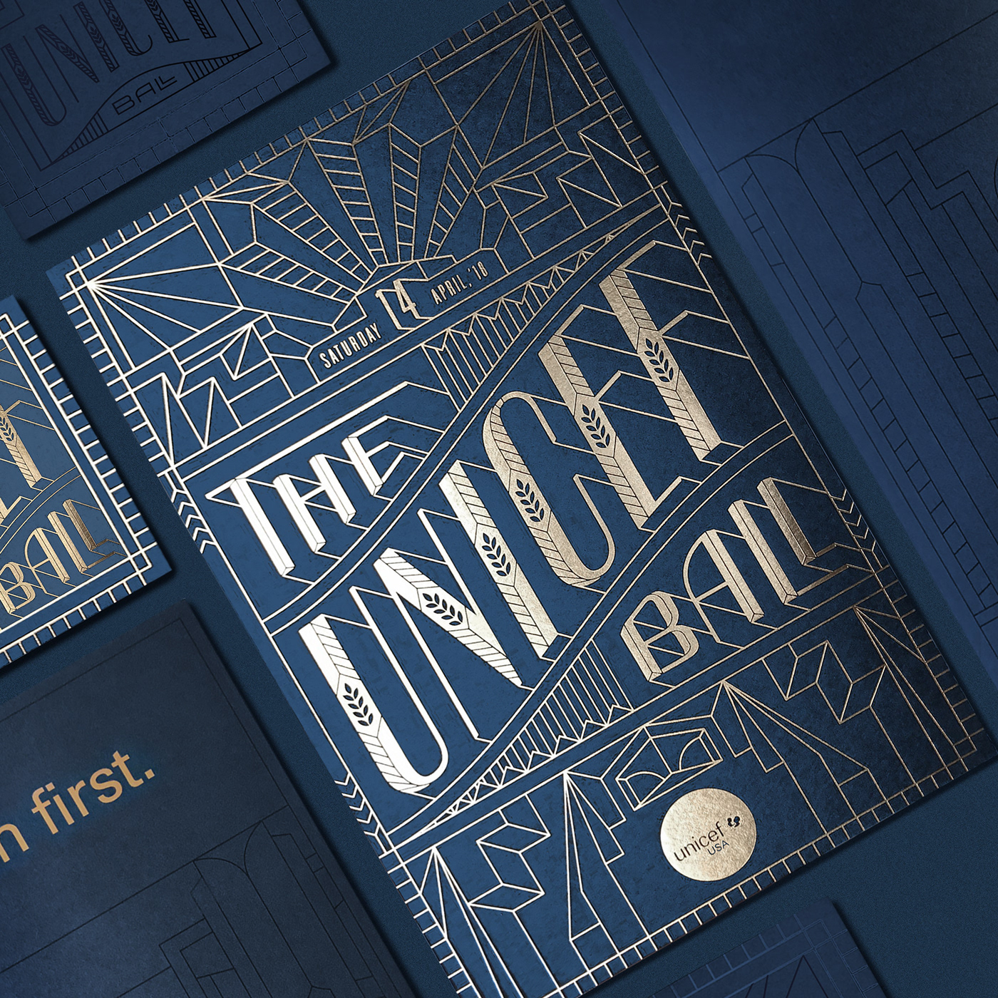 The Unicef Ball 2018 Identity