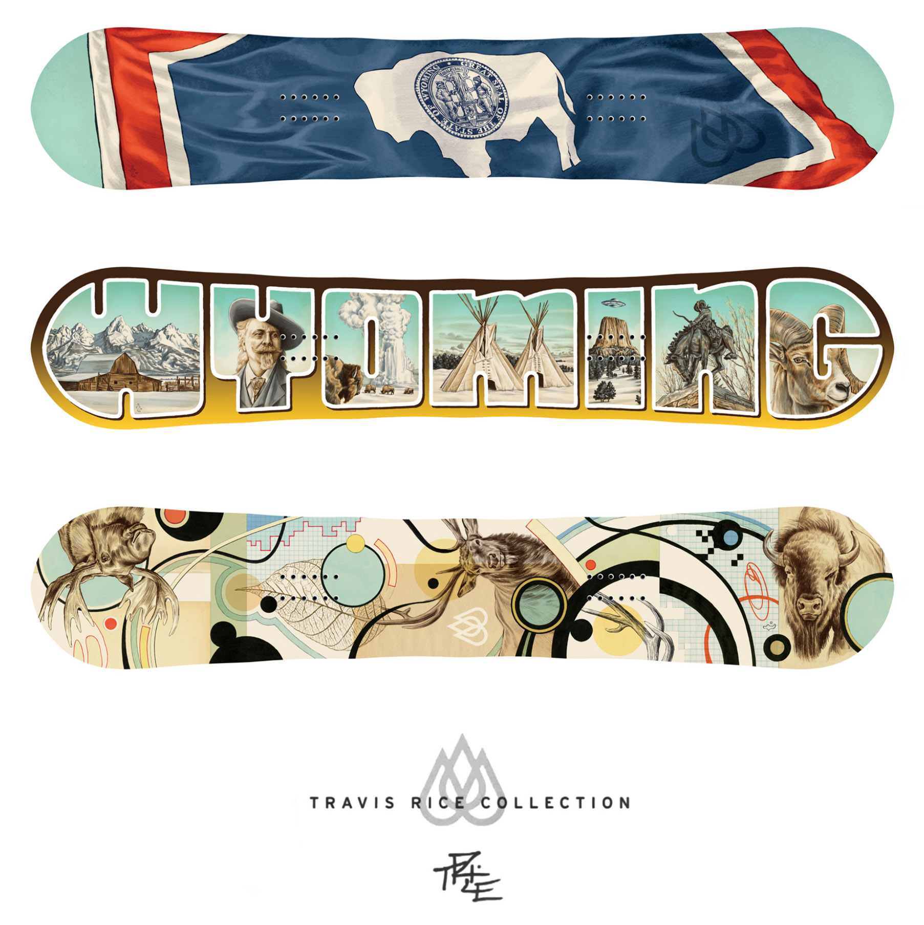 Travis Rice Snowboards