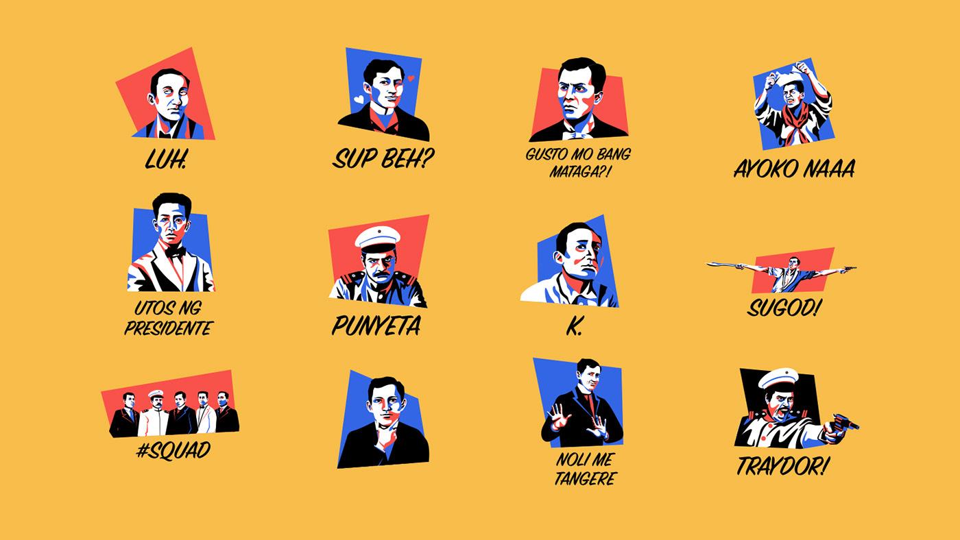 Bayani Bros Stickers