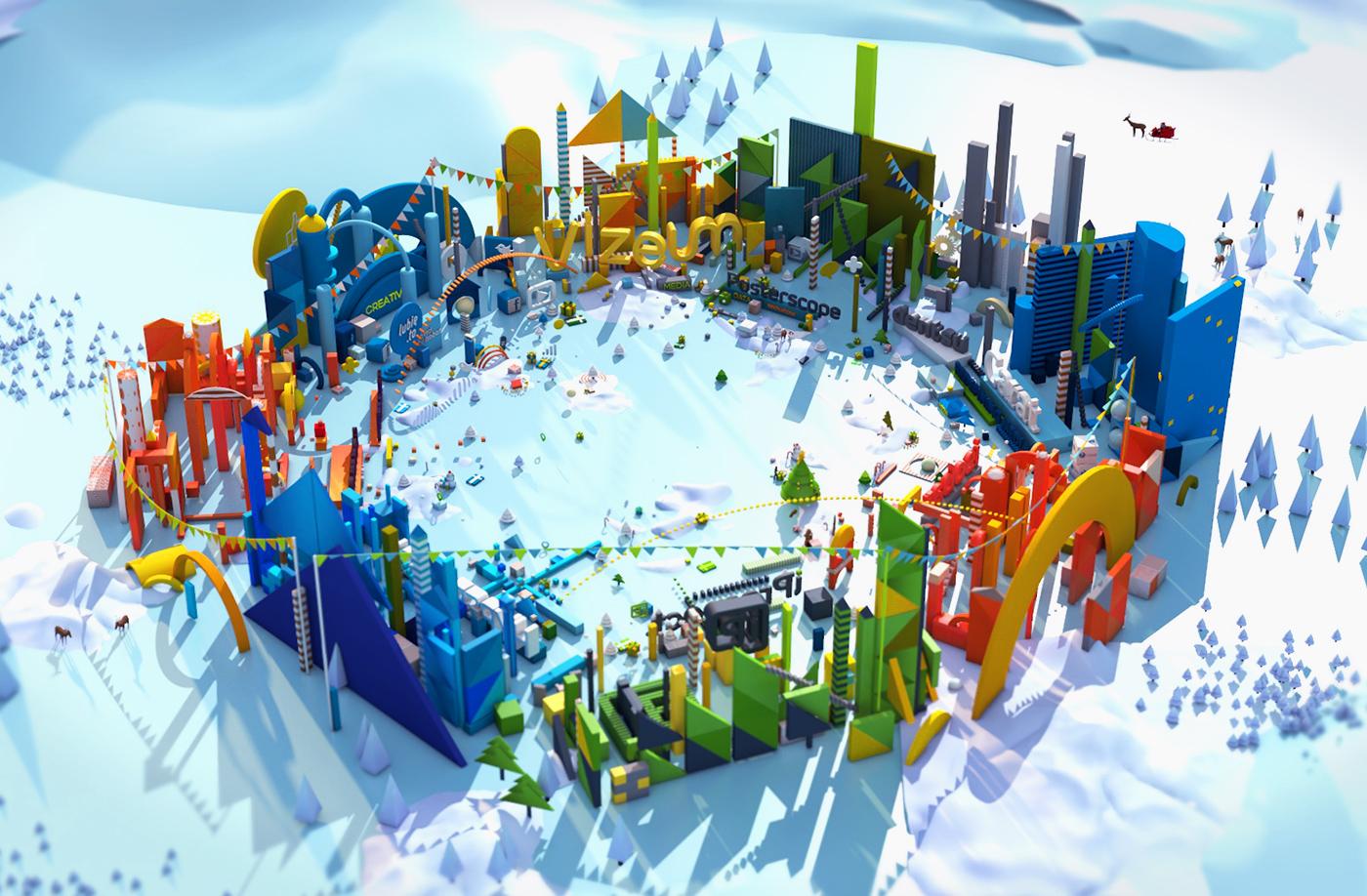 VR Christmas Card