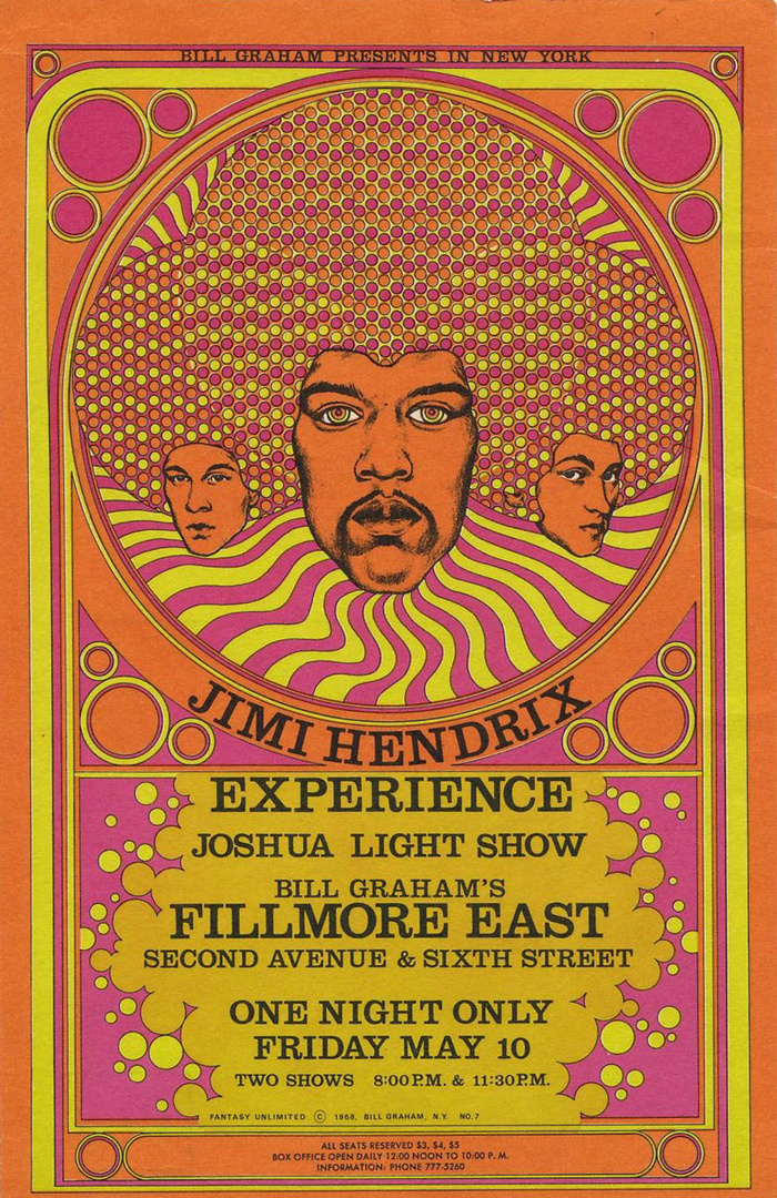 Jimi Hendrix Experience with Joshua Light Show
